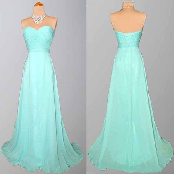 Long bridesmaid dress tiffany blue bridesmaid dress for Wedding dresses with tiffany blue