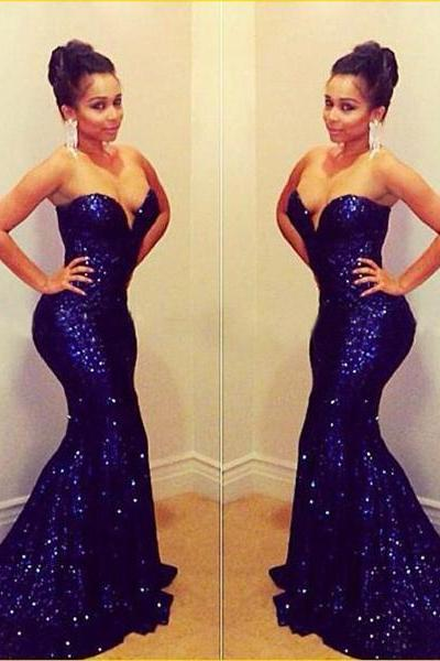 long prom dresses,sequin prom dresses,mermaid prom dresses,sparkly prom dresses,sweetheart prom dresses,evening prom dresses ,party prom dresses,1754