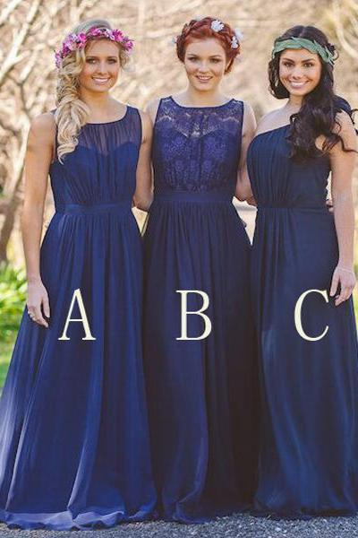 long bridesmaid dress,royal bridesmaid dress ,A-line bridesmaid dress ,sleeveless bridesmaid dress ,chiffon bridesmaid dress ,cheap bridesmaid dress ,custom bridesmaid dress ,17158