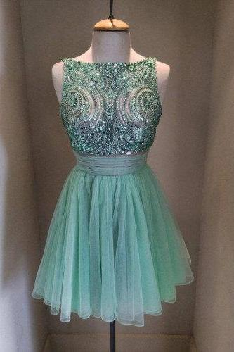 Sleeveless Homecoming Dress,Short Homecoming Dress ,Junior Homecoming Dress ,Handmade Homecoming Dresses,Pretty Cocktail Dresses,Homecoming Dress,17172