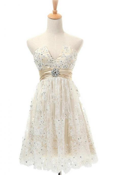 Short Homecoming Dress,Lace Homecoming Dresses,V-neck Homecoming Dresses,Junior Homecoming Dresses,Pretty Homecoming Dresses,Homecoming Dress,17174