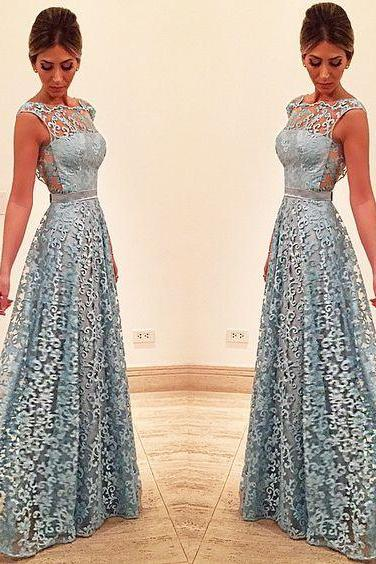 Lace Prom Dress, See-through Back Prom Dress, Unique Design 2017 Prom Dress, Long Prom Dress, Special Occasion Gowns, Prom Dress, Party Dress, 17836